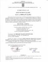 Certificat de punere pe piata