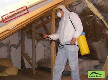 Servicii de ignifugare lemn