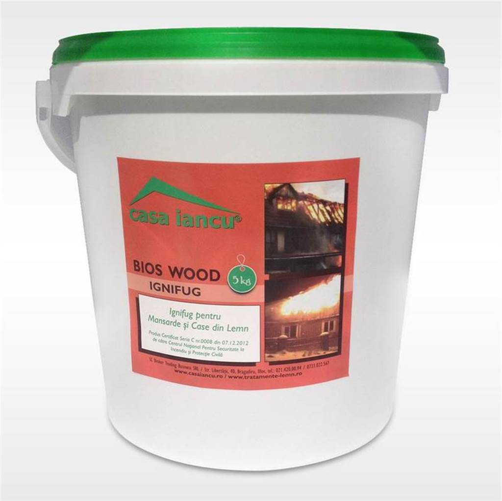 Imaginea Bios Wood Ignifug 5kg