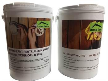 Kit Detergent si Revitalizant Suprafete lacuite